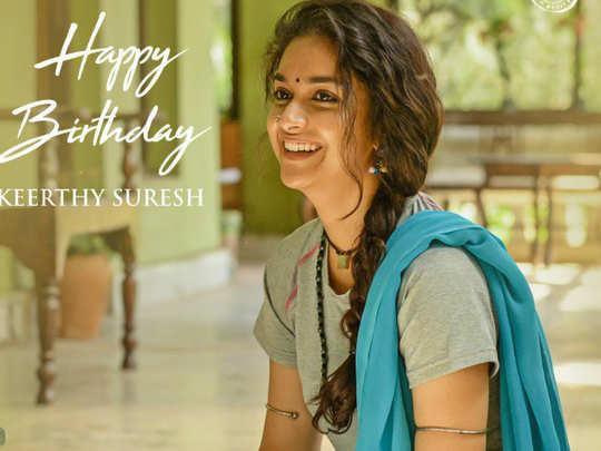 Keerthy Suresh Birthday
