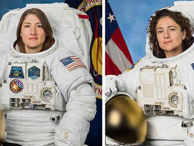 दोनों महिलाएं बनाएंगी अंतरिक्ष में इतिहास