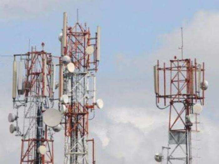 mobile towers.