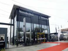 mercedes benz inaugurates new luxury car showroom in chennai