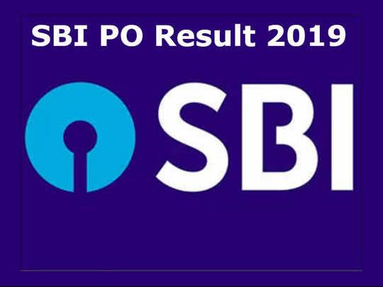 SBI PO Result 2019 check here