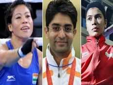 six time world champion mary kom slams abhinav bindra for backing boxer nikhat zareen