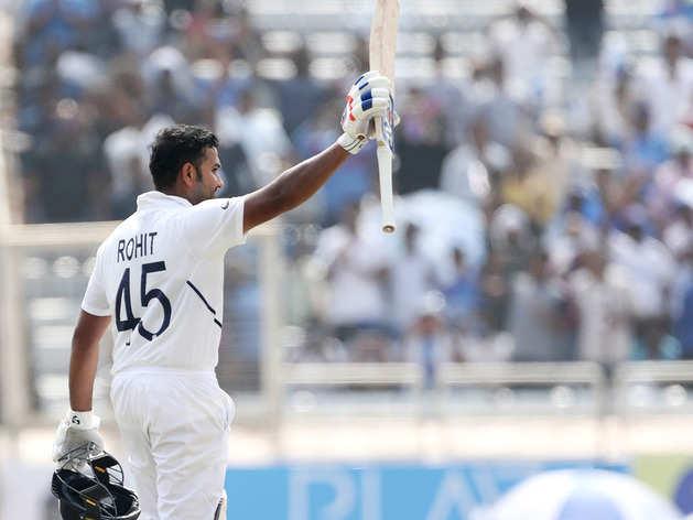 IND vs SA Highlights: रांची टेस्ट में रोहित की डबल सेंचुरी, भारत का पलड़ा भारी
