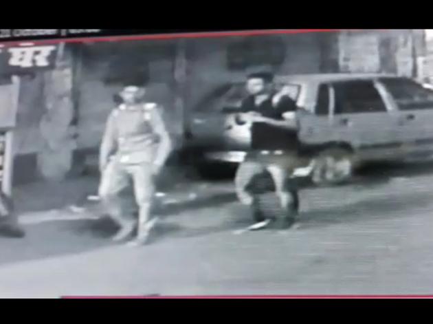सीसीटीवी फुटेज में दिख रहे कमलेश तिवारी के हत्यारोपी