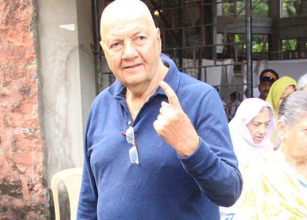प्रेम चोपड़ा ने किया मतदान