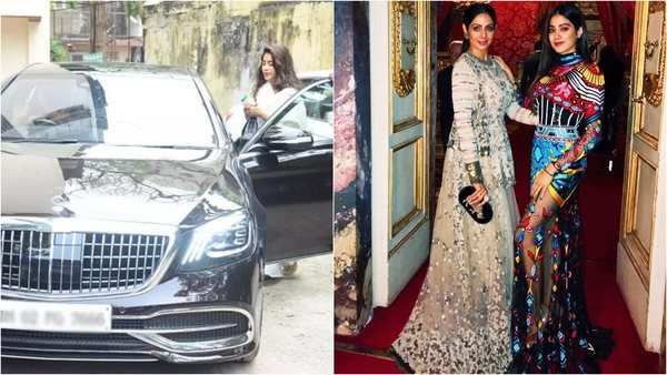 this is the connection between janhvi kapoors brand new luxury car and late mother sridevi