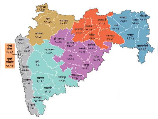 महाराष्ट्रानं असं केलं मतदान
