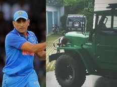 ace cricketer mahendra singh dhoni buys nissan jonga once used by indian army