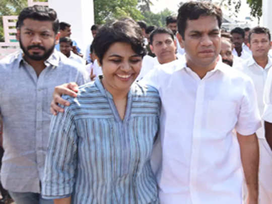 congress-MP-With-wife
