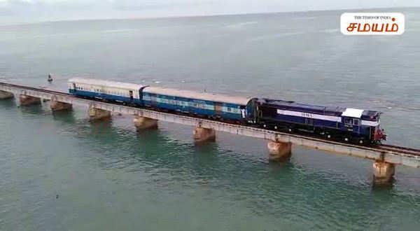 pamban railway bridge safety measures