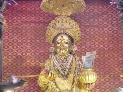 अन्नपूर्णा मंदिर में स्थापित है स्वर्ण प्रतिमा