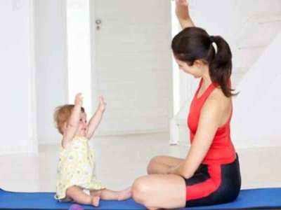 प्रेग्नेंसी के बाद योग से घटाएं वजन