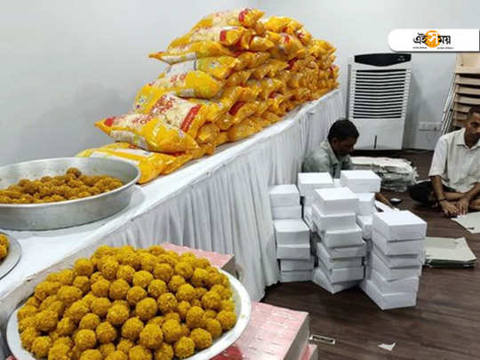 maharashtra bjp places order for 5000 laddus and garlands as victory preparations