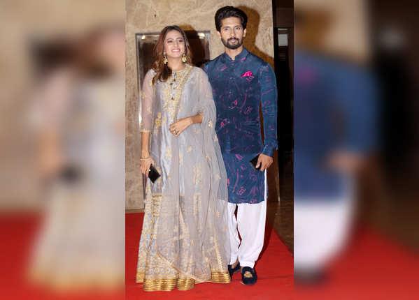 सरगुन मेहता के साथ पहुंचे रवि