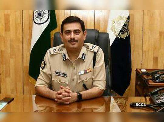 CP Anuj Sharma alerts poice residential people about firecrackers rules