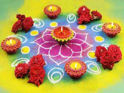दिवाली पर बनाएं रंग-बिरंगी खूबसूरत रंगोली