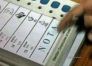 nota becomes second in two maharashtra seats shiv sena pushed to third place