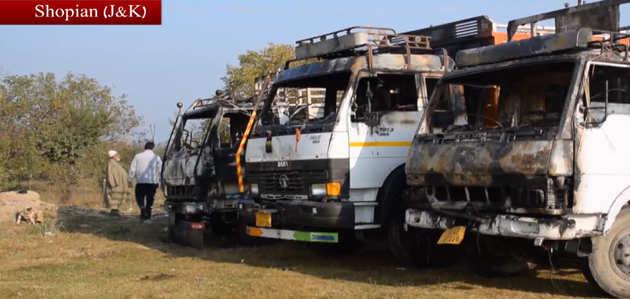 शोपियां में आतंकियों की गोलीबारी में 2 ट्रक ड्राइवरों की मौत