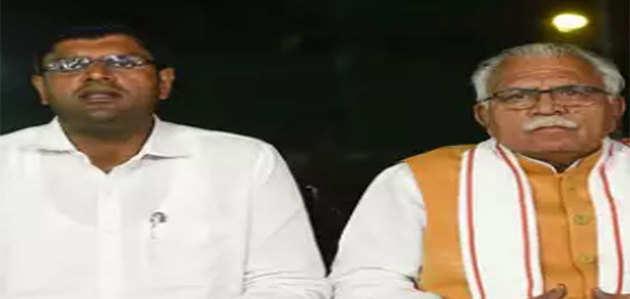 मनोहर लाल खट्टर 27 अक्टूबर को दूसरी बार हरियाणा के मुख्यमंत्री पद की शपथ लेंगे
