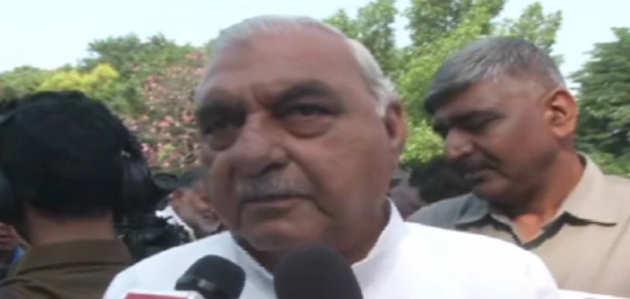BJP-JJP सरकार स्वार्थ पर आधारित: पूर्व हरियाणा CM भूपिंदर सिंह हुड्डा