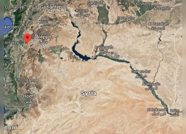 सीरिया के इदलिब प्रांत में छिपा था आतंकी