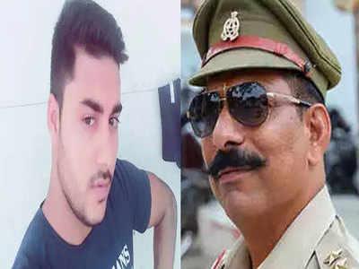 मृतक सुमित और शहीद इन्स्पेक्टर सुबोध कुमार सिंह (फाइल फोटो)