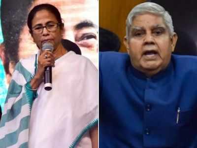 राज्यपाल जगदीप धनखड़ और मुख्यमंत्री ममता बनर्जी (फाइल फोटो)