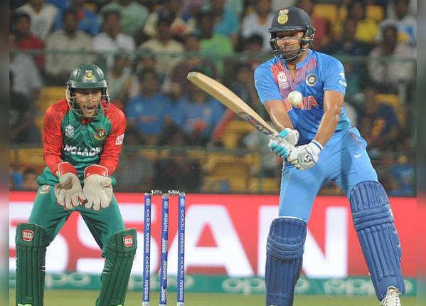 T20I: भारत के आगे फेल बांग्लादेश, रोहित हैं हिट