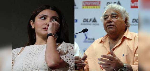 फारुख इंजिनियर ने अनुष्का शर्मा पर अपने कॉमेंट के लिए मांगी माफी