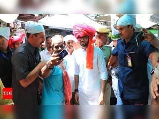 Aditya visiting Ajmer Sharif