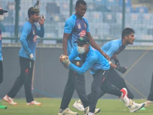 टीम इंडियाचा आज लढा प्रदूषण अन् बांगलादेशशी