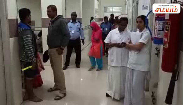 infant dead in government hospital due to low voltage in andhra pradesh