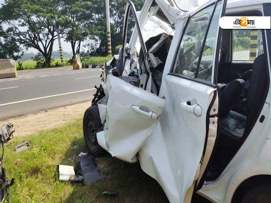 former Bengal cricketers car rams into truck at Suri, 2 critical