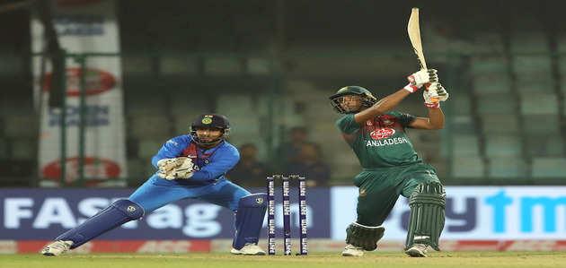 दिल्ली: बांग्लादेश से पहली बार टी20 में हारा भारत