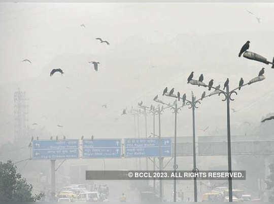 politics over Delhi pollution