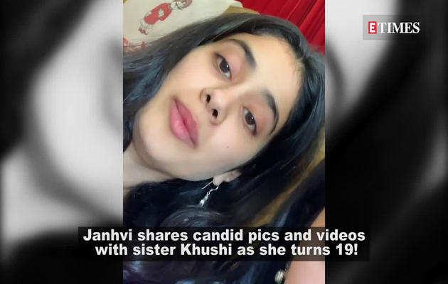 बहन खुशी के नाम जाह्नवी का इमोशनल मेसेज