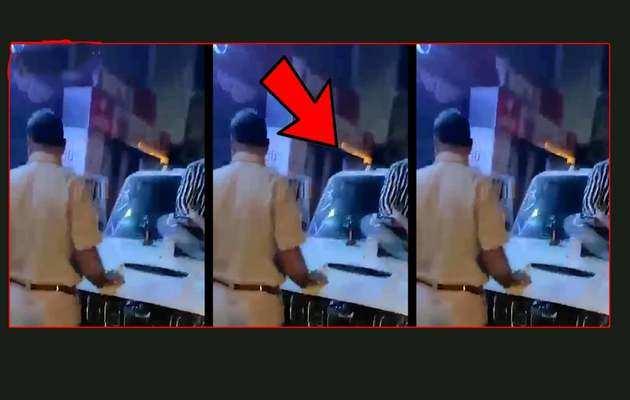 On cam: 'Drunk' men misbehave with cops in Yamuna Nagar