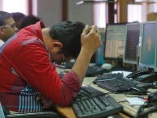 Sensex_ அடி வாங்கிய பங்குச் சந்தை