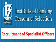 ibps specialist officers online application form 2019 is available apply here