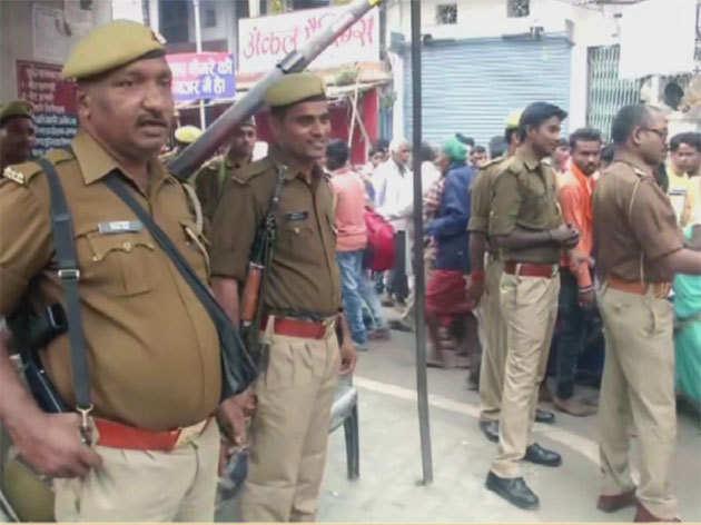 अयोध्या: राम मंदिर पर सुप्रीम कोर्ट के फैसले से पहले सुरक्षा चाक-चौबंद
