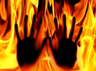 andhra pradesh farmer tries to set panchayat secretary ablaze
