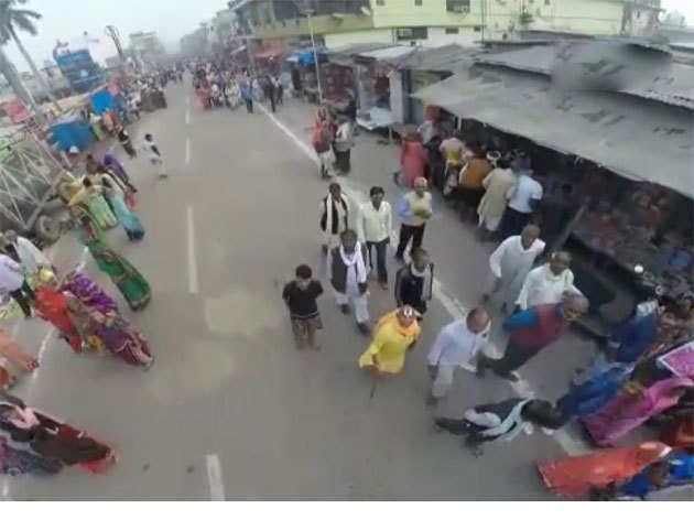 सुप्रीम कोर्ट के फैसले से पहले अयोध्या में ड्रोन के जरिये की जा रही है निगरानी