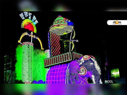 lighting of Chandannagar