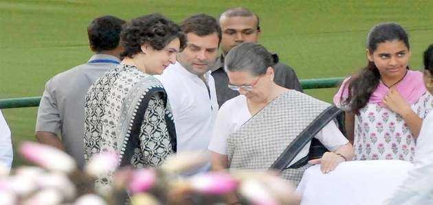सरकार ने गांधी परिवार से SPG सुरक्षा कवर वापस लेने का किया फ़ैसला