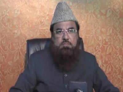 फतेहपुरी मस्ज़िद के शाही इमाम डॉ. मोहम्मद मुफ्ती मुकर्रम