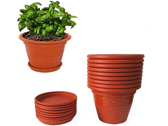 Heavy Duty Plastic Planter Pot