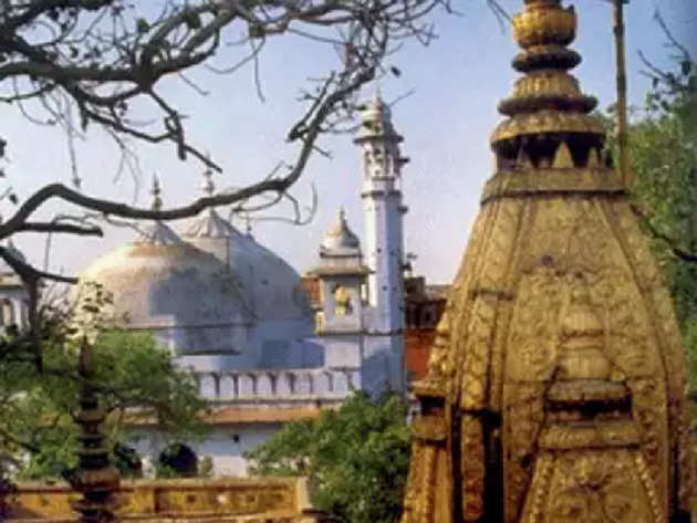 वाराणसी में काशी विश्वनाथ मंदिर और ज्ञानवापी मस्जिद