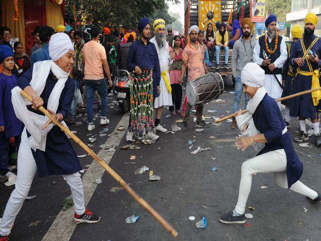 दिल्ली में नगर कीर्तन (फाइल फोटो)