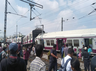 two trains collide in hyderabad several injured