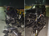 drunk driver hits six people on hyderabad flyover two die